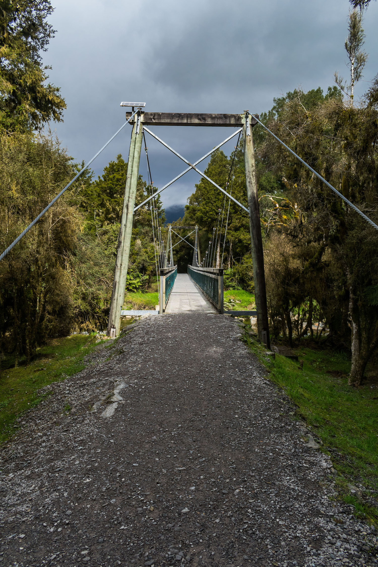 Clearwater Bridge Lake Matheson