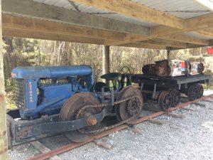 Blacks Rail Tractor Pakihi Walk Okarito
